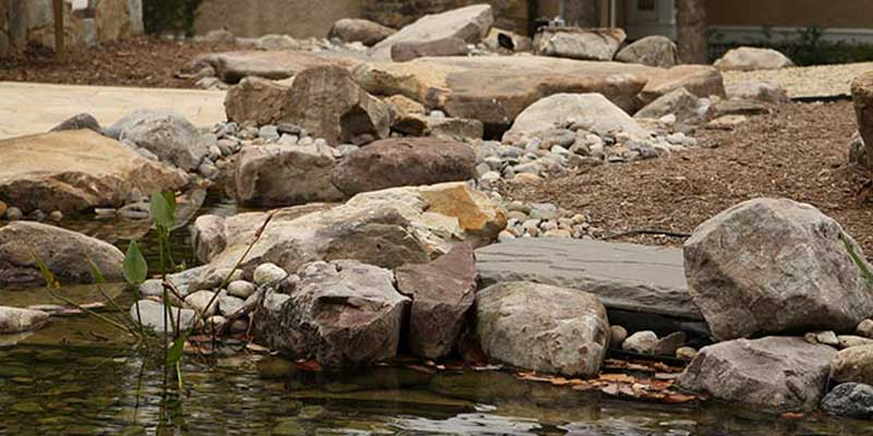 Fiberglass small pool designs reviews landscape block for Landscaping rocks new plymouth